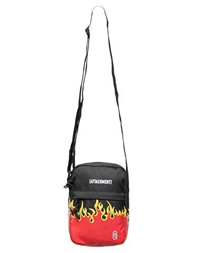 Black Crossbody Mini Bag ATTACHMENT Flamerama qx1CTwcp