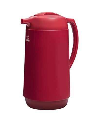 Zojirushi AHGB-10DRA Thermal Serve Carafe, 1.0 Liter, Red, Made in Japan ()