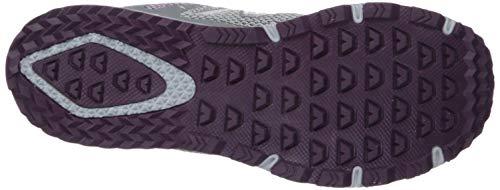 New Balance Women's 590v4 FuelCore Trail Running Shoe Gunmetal/Dark Current/Voltage Violet 5.5 B US by New Balance (Image #3)