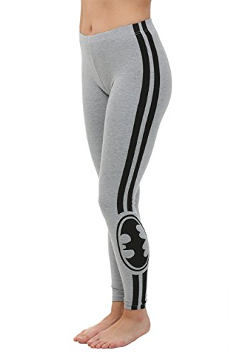 Bioworld Merchandising   Independent Sales Womens Batman Racer Stripe Leggings Medium