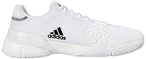 Adidas Performance Men's Barricade 2015 SW19 Tennis Shoe White/Black/White fake for sale shopping online cheap price cheap get authentic Pjjoix