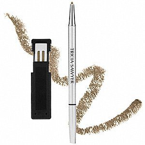 Amazon.com : Tricia Sawyer Brow Define Automatic Eyebrow Pencil with Refills - Brown : Beauty