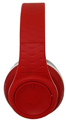 Fanny Wang Co. Over Ear DJ Headphones with Selectable Bass Boost & Apple Integrated Remote and Mic