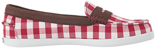 Haan Prep Red Gingham Women's Cole Cabernet Prints Weeknder Pinch Nubuck gIUwddqR