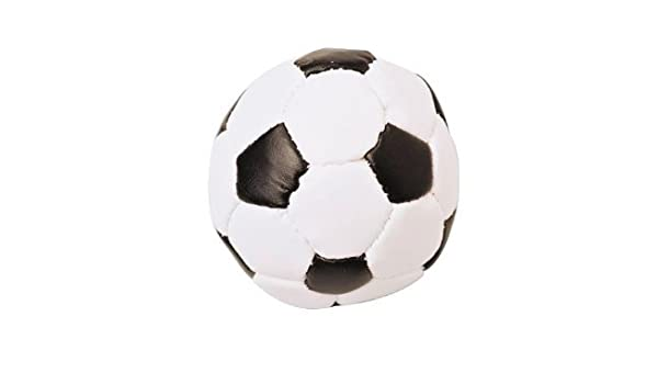 Blanco y Negro Diseño de balón de fútbol Kick pie bolsa hackie ...