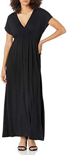 Amazon Essentials Women's Surplice Maxi Dress
