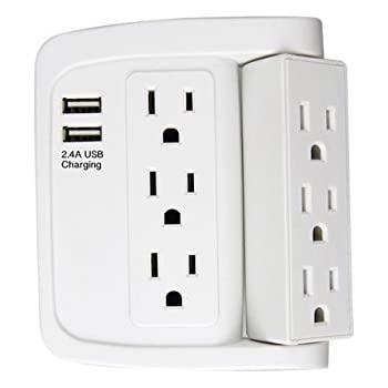 Amazon Com Ecoplugs Swivel Electrical Outlet Adapter