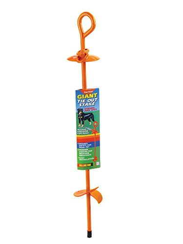 Four Paws Tie Outs - Four Paws Giant Dog Tie Out Stake