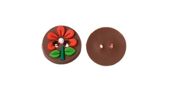 10 ideales botones flor arcilla de polimero relieve para ...