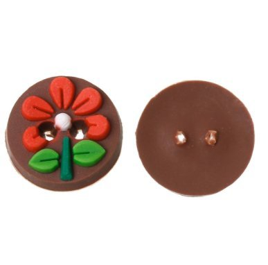 10 ideales botones flor arcilla de polimero relieve para chaquetas camisas abrigos para decorar cajas,