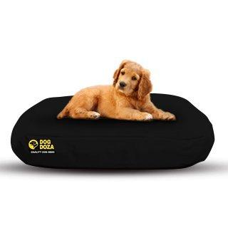Camas ovaladas Impermeables para Perro Doza, Color Negro, 90 cm x 60 cm: Amazon.es: Productos para mascotas
