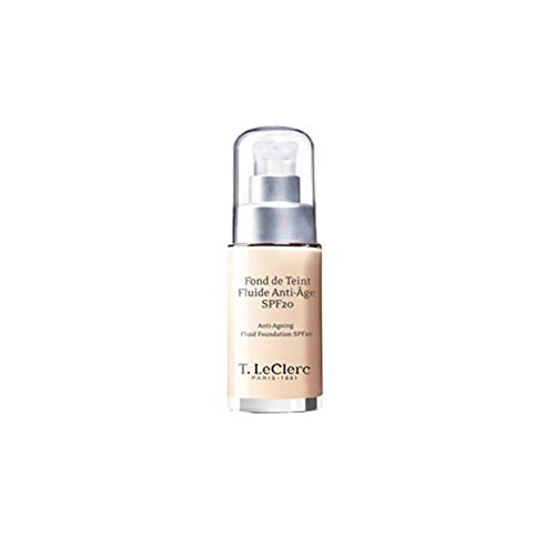 T. LeClerc Anti Ageing Fluid Foundation SPF 20 (Bottle) - # 01 Ivoire Satine - 30ml/1oz