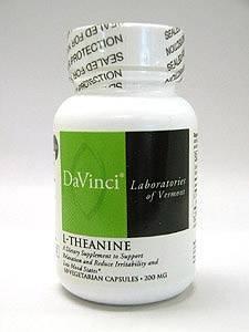 L-théanine 200 mg 120 Capsules végétariennes par DaVinci Labs