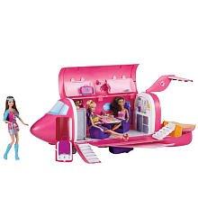 Barbie Glam Vacation Jet including 3 Barbie Dolls