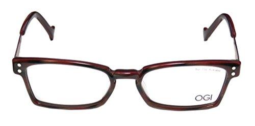 Little Penguin Merlot (Ogi 3063 Mens/Womens Optical For Teens Designer Full-rim Eyeglasses/Spectacles (50-17-140, Merlot / Brown /)