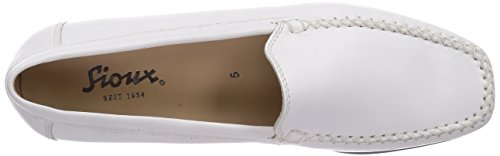 Sioux Campina Ladies Mocassino Bianco (bianco)