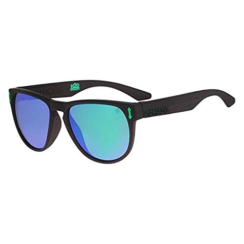 06aa9d5f68 Dragon Marquis H2O Sunglasses Matte Black/Green Ionized, One Size