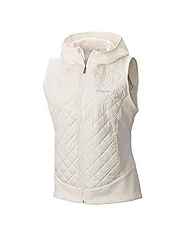 Columbia Women's Warmer Days Hooded Vest Chalk XL