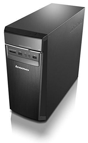 Lenovo H50 Desktop (AMD A8, 8 GB RAM, 1TB HDD, Windows 10) 90BF0046US