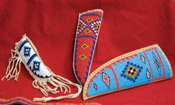 Beaded Knife Sheath - Large by standsbyriver