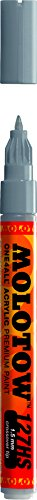 Molotow ONE4ALL Acrylic Paint Marker, 1.5mm, Cool Grey Pastel, 1 Each (127.418)