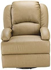 Thomas Payne 320396 Brookwood Tobacco Swivel Glider Recliner