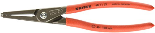 - Knipex 4811J3 Internal Straight Precision Retaining Ring Pliers 9-Inch