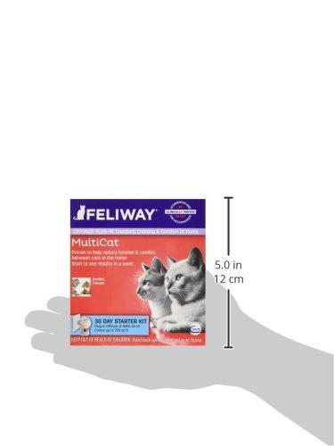 CEVA Animal Health FELIWAY MultiCat Starter Kit for Cats (Diffuser and 48 ml Vial) by CEVA Animal Health (Image #5)