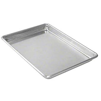 Amazon Com Culinary Depot Aluminum Sheet Pan Set Of 12 Baking Pans Full Size Commercial Baker 1 Dozen 18 X 26 Inches Industrial Scientific