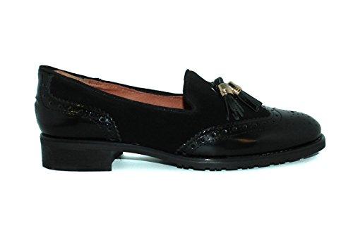 Mocasines de mujer - Maria Jaen modelo 1610N Negro