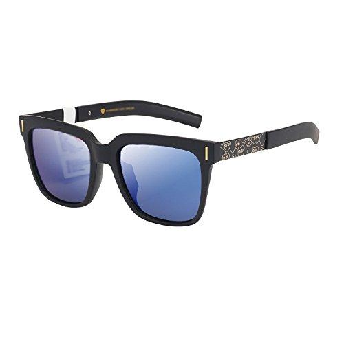 de Las la conducen Gafas Gafas D WFL de de la Sol Que Sol de C Las de Mm Marea Personalidad Cuadrados Los de Cara Hombres txtzqZ7