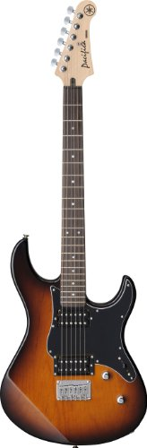 Yamaha Pacifica PAC120H TBS Solid-Body Electric Guitar, Tobacco (Body Electric Guitar Tobacco Sunburst)