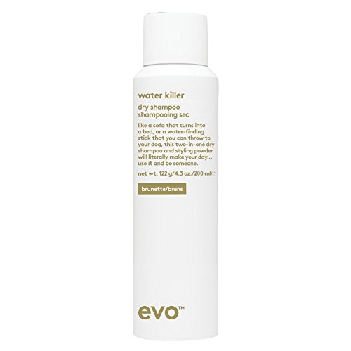 Evo Water Killer Dry Shampoo Brunette, 4.3 Ounce by EVO