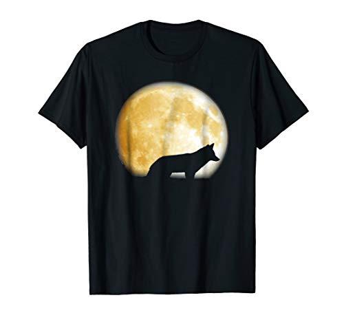 Wolf moon t shirt Halloween Great Gift Perfect Tee shirt