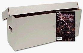 BCW Long Comic Book Storage Box - (Bundle of 10) Corrugated Cardboard Storage Box - Comic Book Collecting Supplies