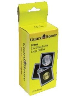 2×2 Large Dollar Tetra Snaplock -10 per box by Guardhouse