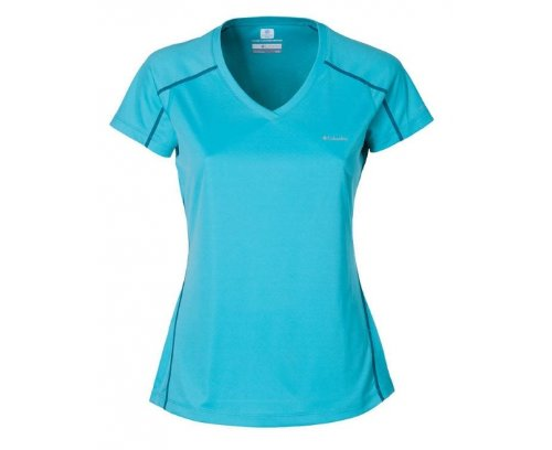 Columbia Donna Zero Corallo Maglietta Short Sleeve Rules g7TvgrS