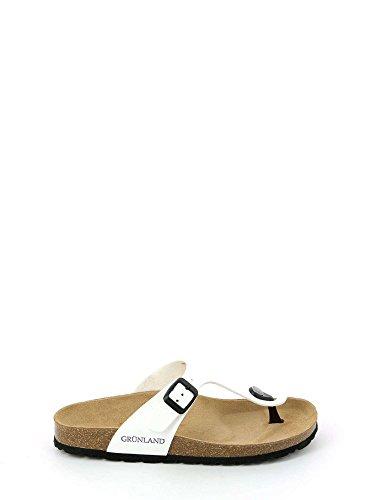 35 Femmes Tongs Blanc CB0025 Grunland gEIqYY