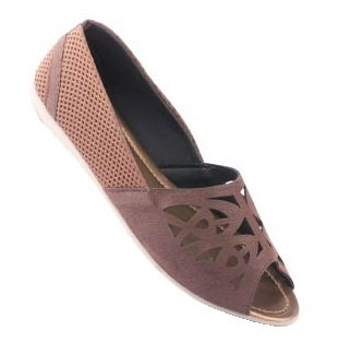 Buy PARAGON Women's Brown PU Sandals