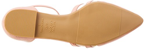 New Donna Jesh 70 Pink Punta light Look Sandali Chiusa XqgArXOw