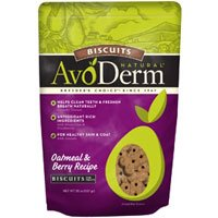 AvoDerm Oatmeal and Berry Biscuit Dog Treat