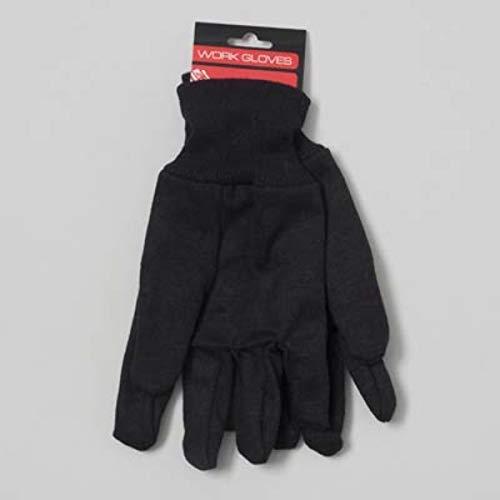- Jersey Work Gloves- Dark Brown Case Pack 48, new