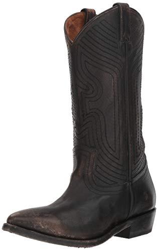 FRYE Women's Billy Stitch Pull On Western Boot, Black, 10 M US