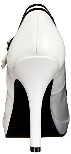 Da Jane wht Bianco Donna Pleaser Patent Secret Mary 15 xAtIw