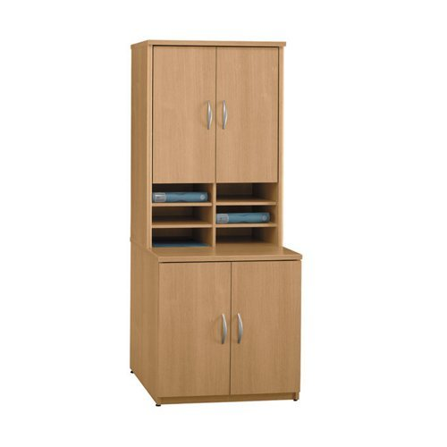 Storage Cabinet with Hutch Warm (Locker Storage Hutch)