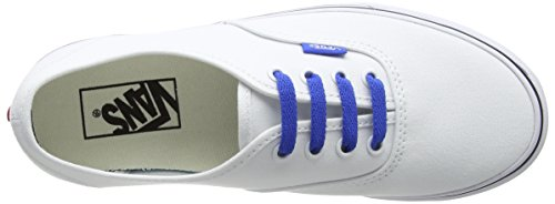 Trainers Authentic Vans White Adults' True Sketch Blue Q9m Unisex White Sidewall Victoria ZqZCwtU