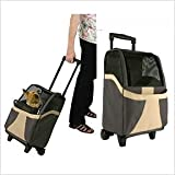 Snoozer Restless Tails Euro Rolling Pet Carrier, My Pet Supplies