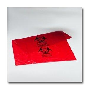 Red Bio Hazard Bag1 Gal 100 Roll From Cardiac Life