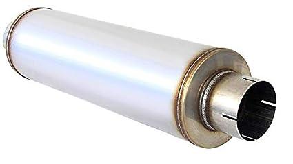 aad41e60 Amazon.com: Stainless Steel Performance Diesel Muffler 4