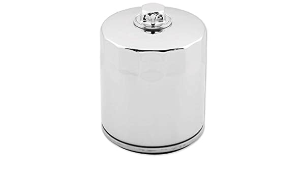 Twin Power Chrome Oil Filter with Nut JO-M150C